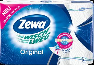Zewa Wisch&Weg Original, 4 x 45 Blatt