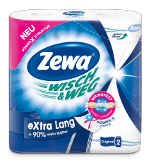 Zewa Wisch&Weg Original eXtra Lang, 2 x 86 Blatt
