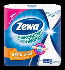 Zewa Паперові рушники  Wisch&Weg Білі