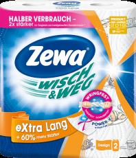 Zewa Wisch&Weg eXtra Lang Design